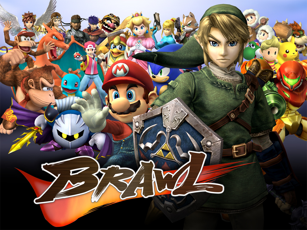 descargar super smash bros brawl pc
