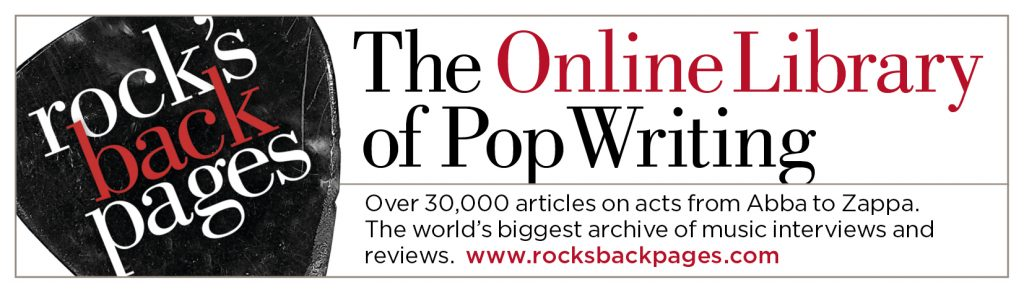 Eresource - Rock's Backpages