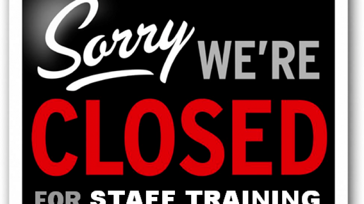 TADL Locations Closed for Annual Staff Inservice Training