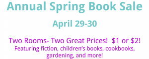 Friends of TADL Annual Spring Book Sale