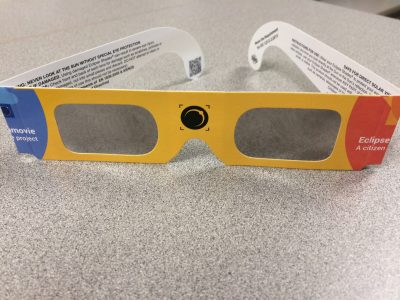 Update Regarding Availability of Eclipse Solar Shades at TADL