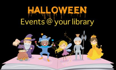 Have a Spooktacular October at Your Library!
