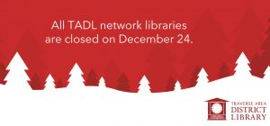 Christmas Eve Day: All Libraries Closed