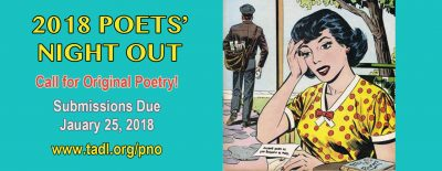 Poets' Night Out: Call for Original Poetry!