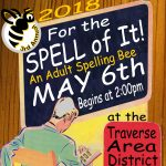 Register today for the 3rd Annual Adult Spelling Bee!