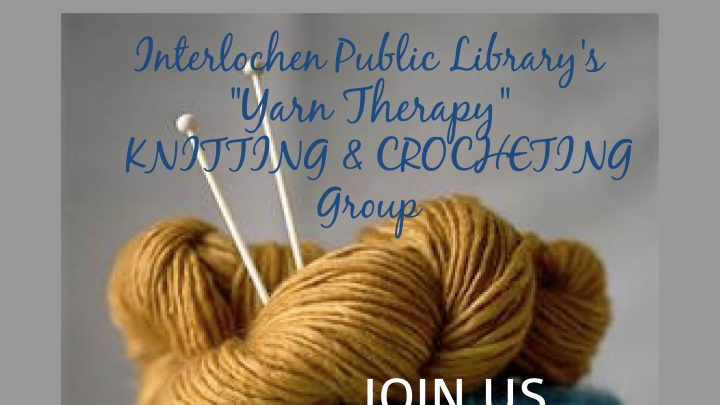 """Yarn Therapy"" Knitting and Crocheting Group"