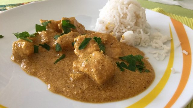 Murgh Korma Masala Dahi (Chicken Braised in a Spiced Yogurt Curry)