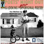Poets' Night Out: Last Call for Submissions!