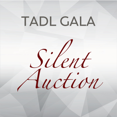 Silent Auction items at the 2019 TADL Gala