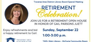 Retirement Open House for Gail Parsons Juett