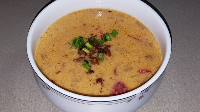 Cheeseburger Deluxe Soup