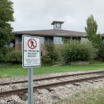 MDOT and TADL remind patrons to stay off of railroad tracks