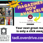 Magazines available in Overdrive!