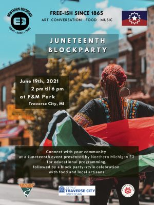 juneteenth block party poster