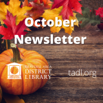 October Newsletter & Book Pages